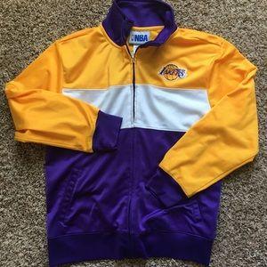 Boys NBA LA Lakers track jacket & shorts